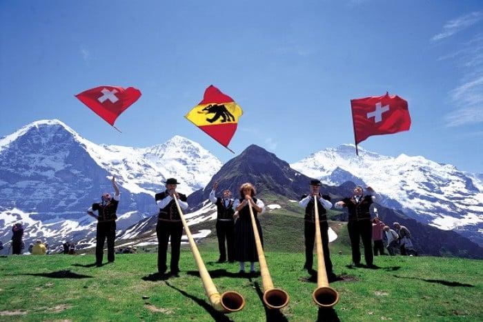 switzerland summer activities