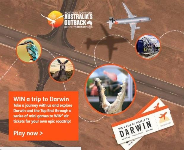 WIN a Trip to Darwin with Jetstar!