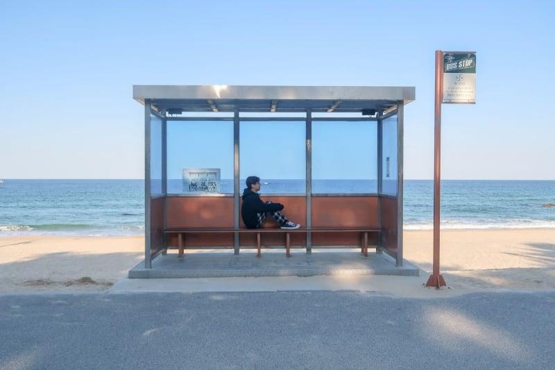 BTS bus stop - gangwon