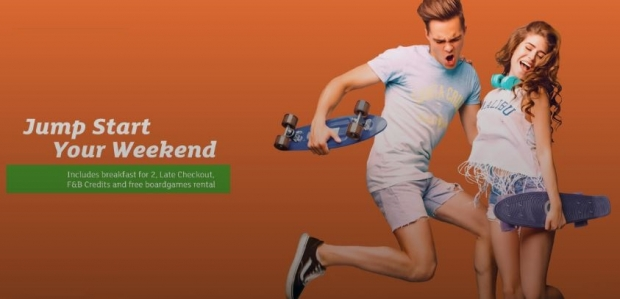 Jump Start Your Weekend in Holiday Inn Singapore Atrium