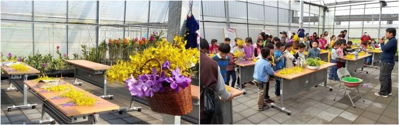 kỳ nghỉ với gia đình ở Đài Loan, học cắm hoa