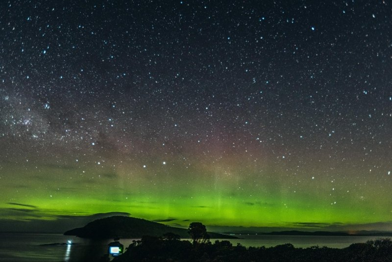 Aurora di australia dan new zealand