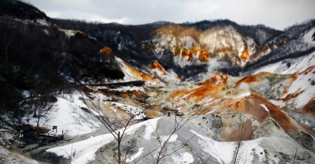 japan's hell valley