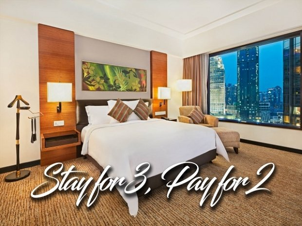 Stay for 3 Nights, Pay for 2 Nights During your Stay in Impiana KLCC Hotel