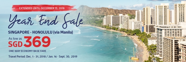 Year End Sale Offer to Manila and Beyond with Philippine Airlines 1