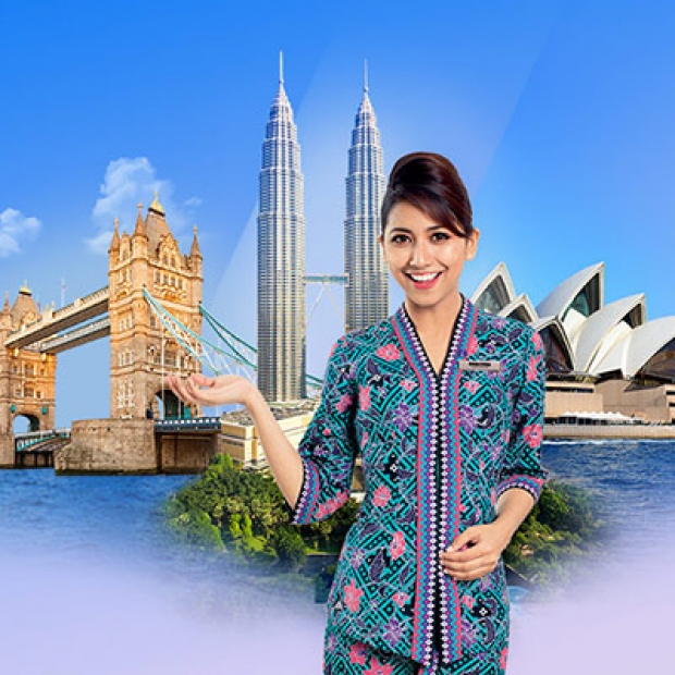 Up to 20% Off Airfares in Malaysia Airlines with Maybank Card