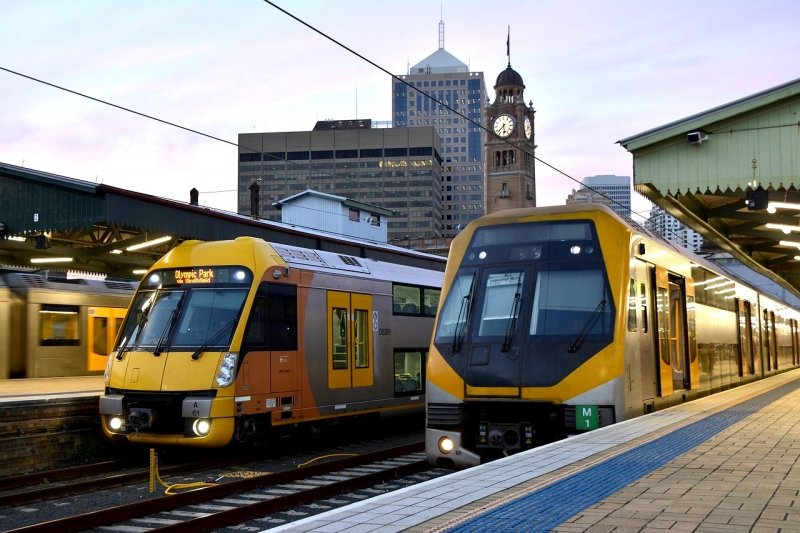 trains in australia