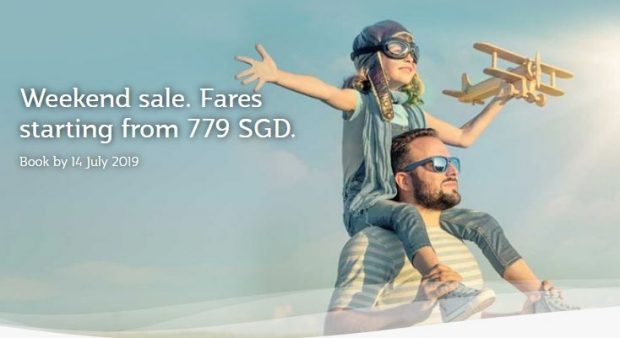 Weekend Sale. Fares Starting from 779 SGD with Qatar Airways