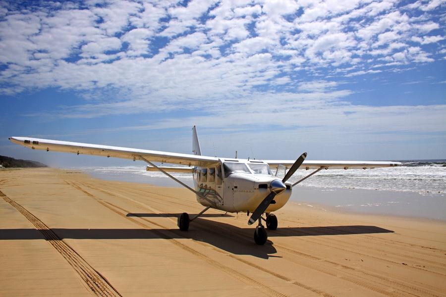 Fraser Island scenic flight