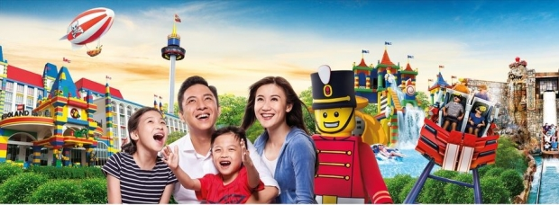 KIDS GO FREE* in Legoland Malaysia Starting this November