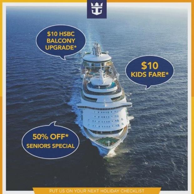 Grab your Next Getaway in Royal Caribbean Roadshow at VivoCity