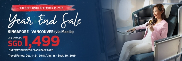 Year End Sale Offer to Manila and Beyond with Philippine Airlines 2