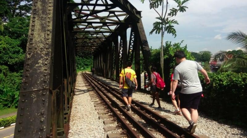 singapore rail corridor