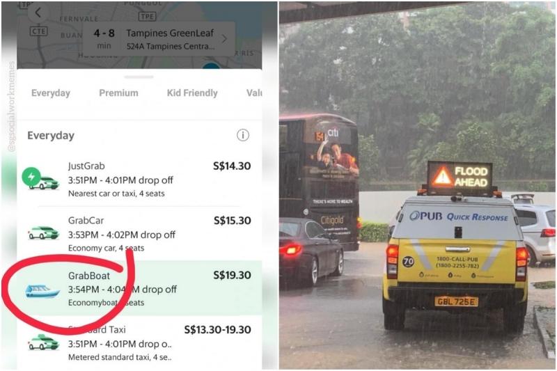 Singapore Flood