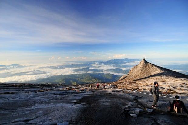 Hiking in Malaysia at Mount Kinabalu