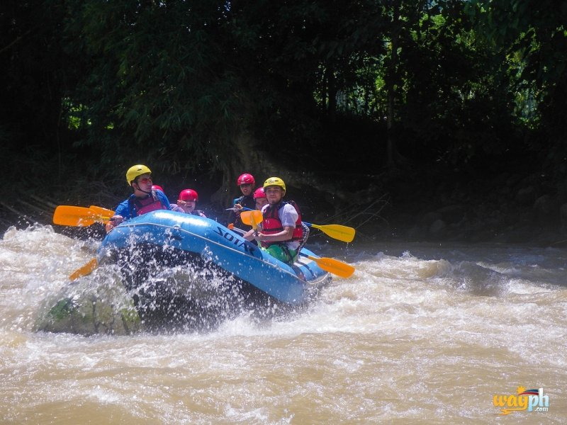 white water rafting davao