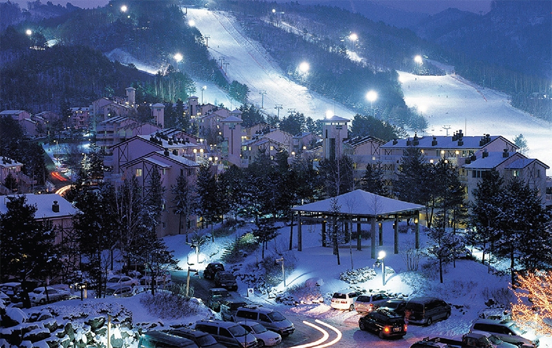 gangwon-do ski resort