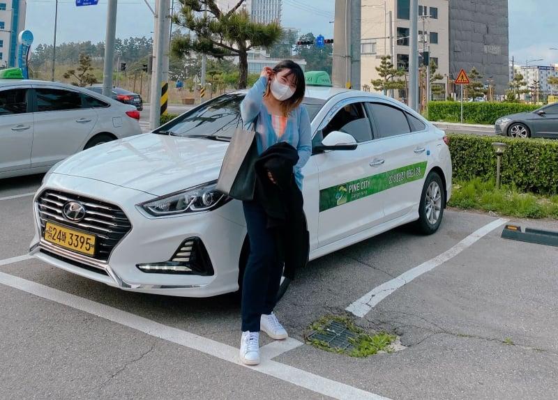 Gangwon tourist taxi