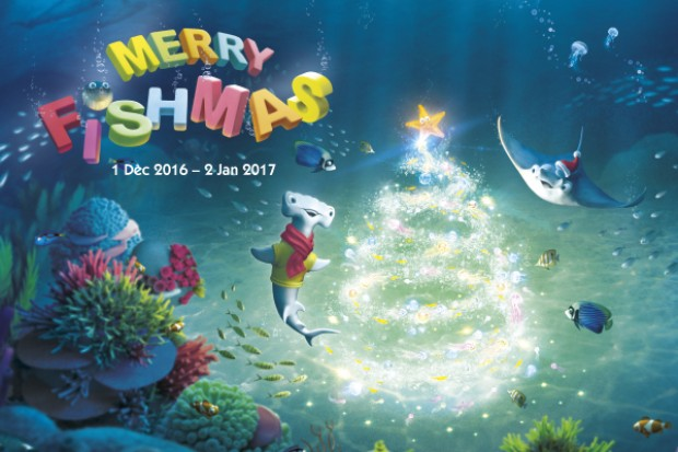 Merry Fishmas Celebration at S.E.A. Aquarium and Resort World Sentosa