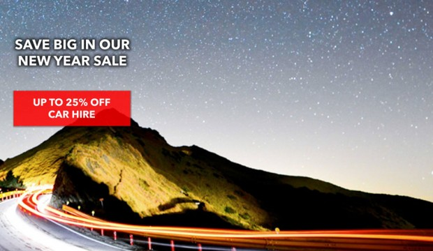 Save 25% Off Car Rental on Avis to Welcome the New Year