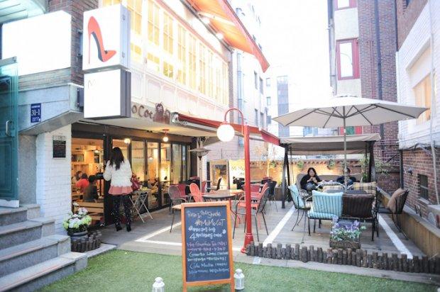 Jiyugaoka Cafe in Seoul