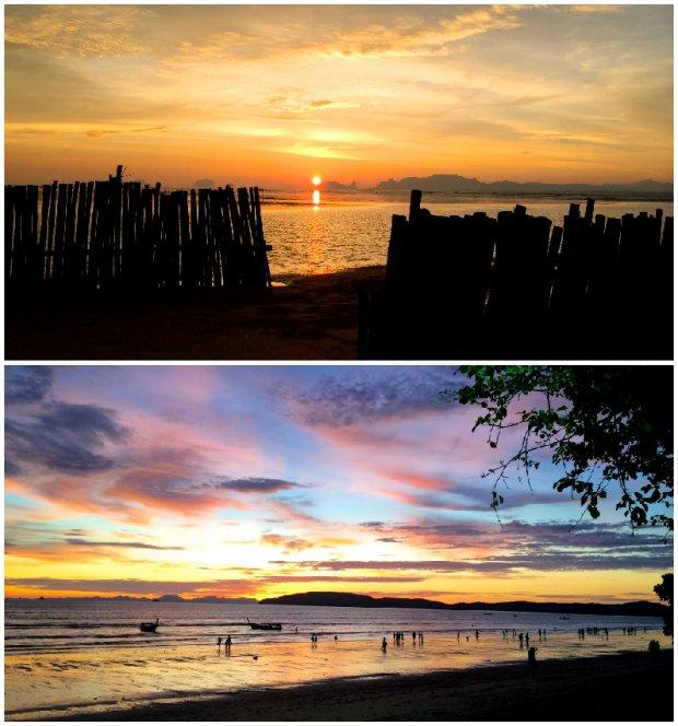 krabi sunsets
