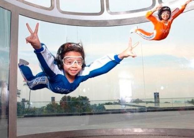 10% off First Timer Challenge Package in iFly Singapore with PAssion Card