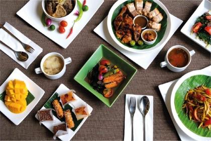 A Comforting Filipino Buffet