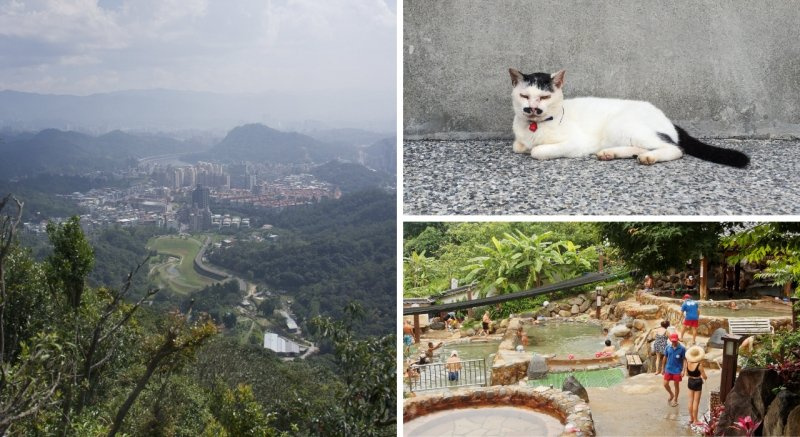 Houtong Cat Village, Fairy Footprint, Beitou Hot Springs