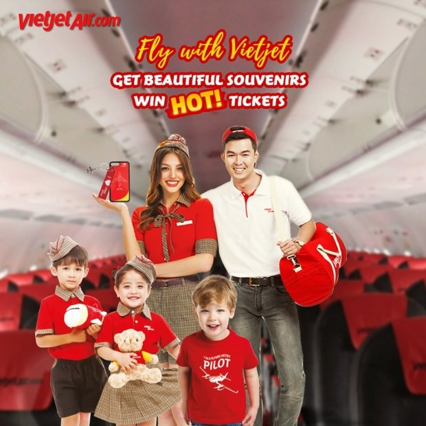 WIN Flight Tickets from VietJet Air