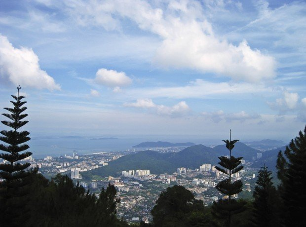 Hiking in Malaysia at Penang Hill