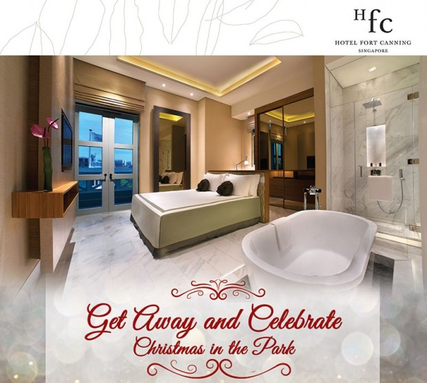 Celebrate Christmas in Hotel Fort Canning from SGD287