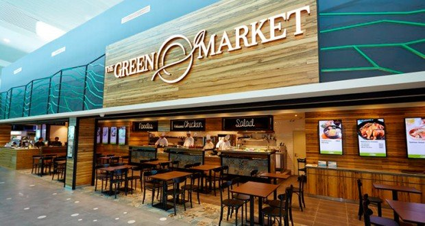Enjoy 25% Off Total Bill in The Green Market Lounge with Maybank