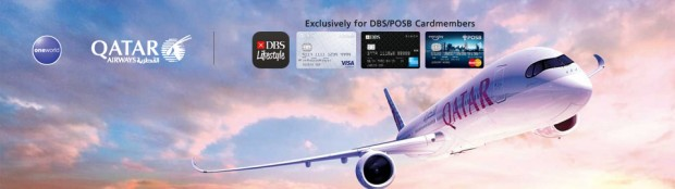 Enjoy Flights from SGD635 with Qatar Airways and DBS/POSB Card