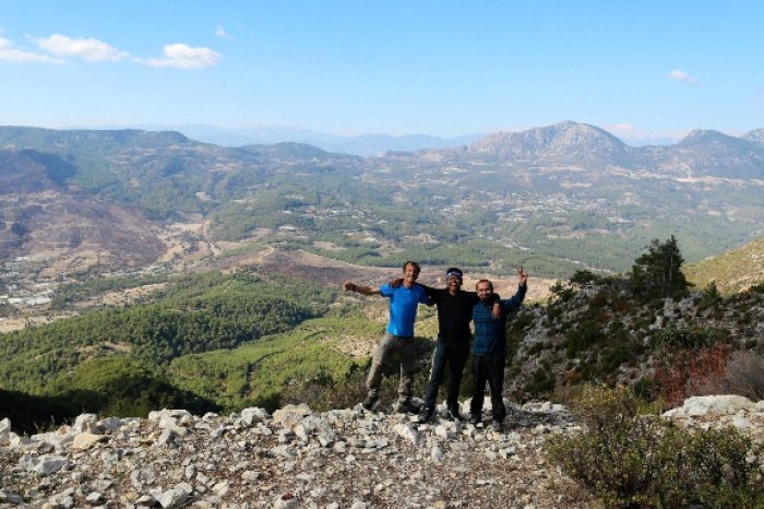 hiking lycian turkey trail