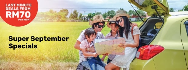 Super September Specials in Tune Hotels from RM70