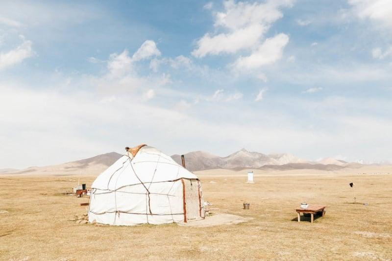 travelling kyrgyzstan