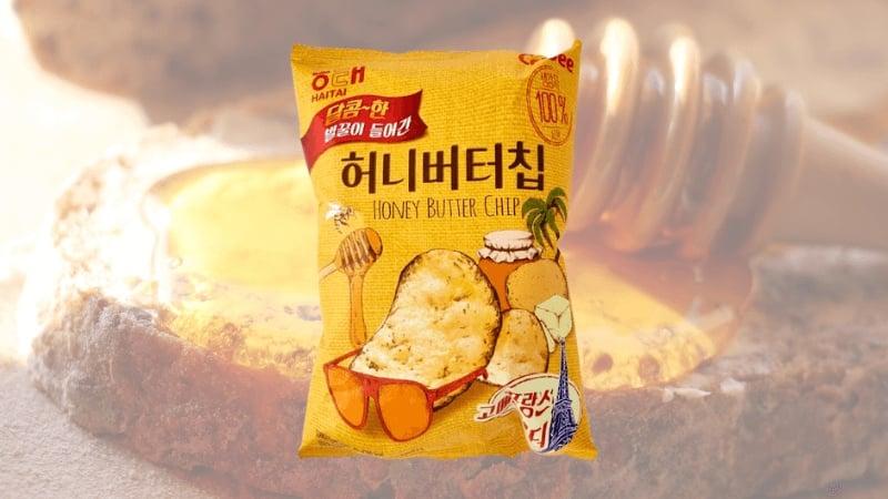 Best Korean Snacks: Honey Butter Chips