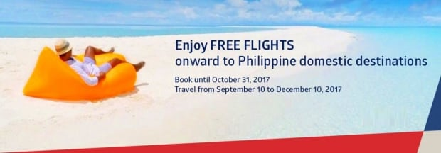 Enjoy FREE Flights Onward to Philippine Domestic Destinations with Philippine Airlines