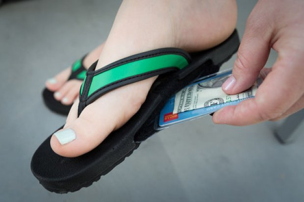 Slot Flop Sandals