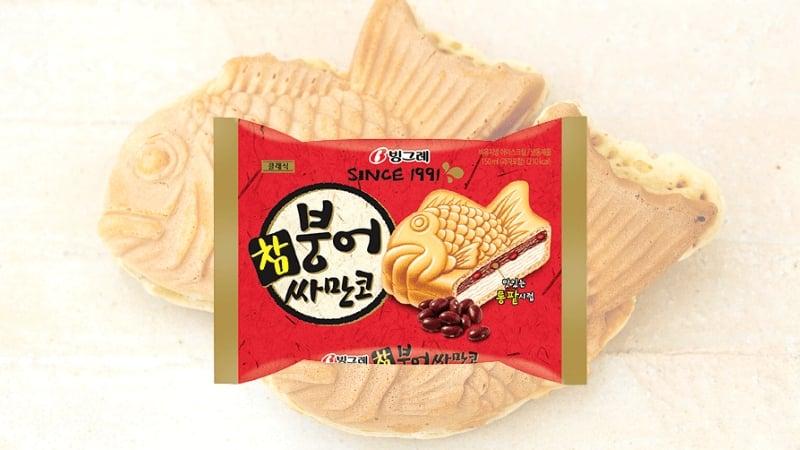 Sweet Korean Snacks: Binggrae Samanco Ice Cream