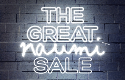 The Great Naumi Sale - Up to 40% off