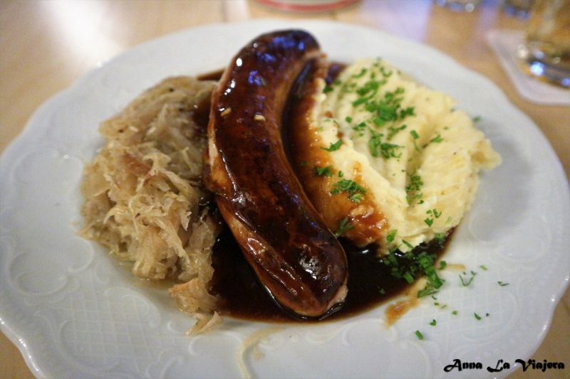 Thuringer bratwurst
