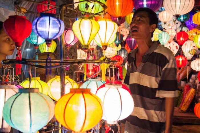 Lồng đèn Du lịch dịp lễ tình nhân