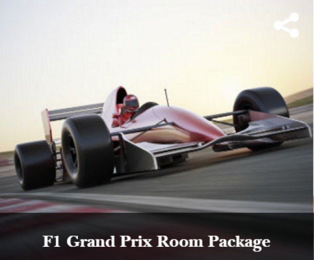F1 Grand Prix Room Package from Concorde Hotel Singapore