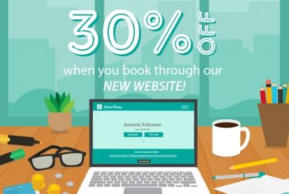 Website Launch 30% Off Promo Code: APW30