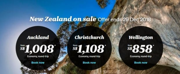New Zealand Adventures Await - Fly now with Air New Zealand from SGD858