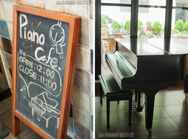 Piano Cafe in Seoul