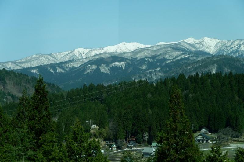 Hida mountain range