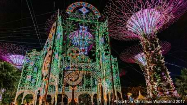 Special Price on Admission Tickets to Christmas Wonderland 2018 at Gardens by the Bay